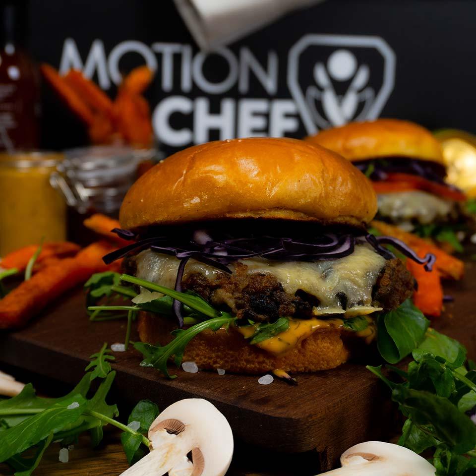 motion chef burger tira