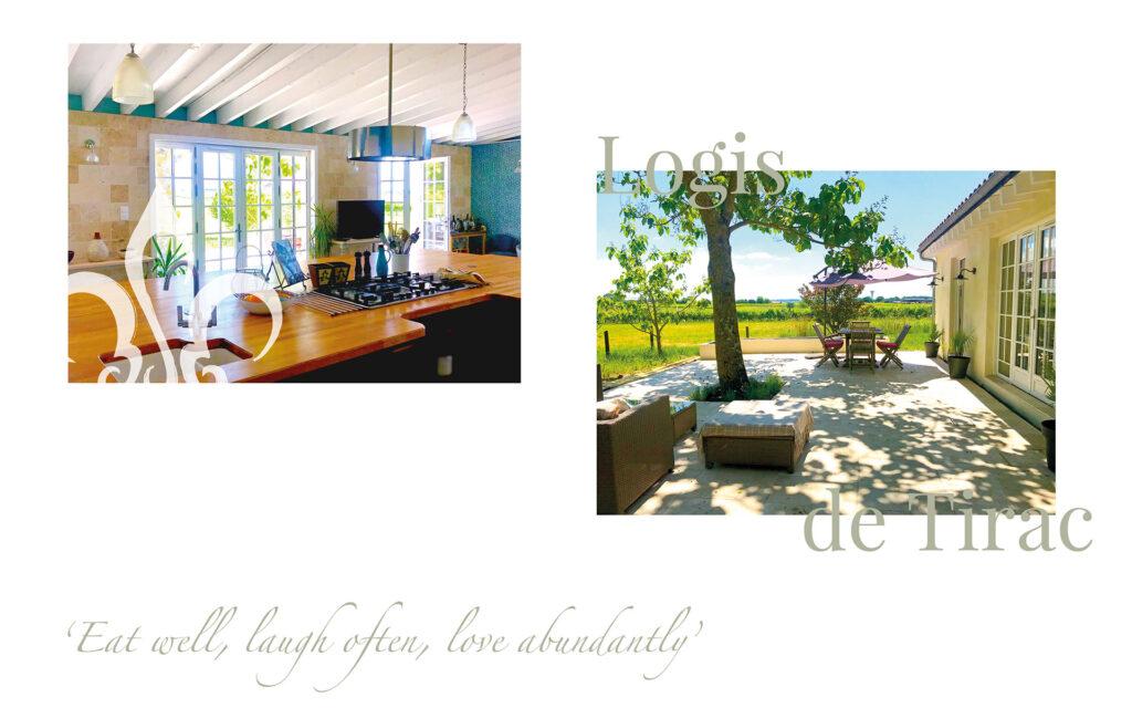 French holiday home brand identity - Tira Design